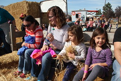 Kids on a hay ride 1 (Aggiewelshes) Tags: october 2016 lehi utah travel cornbellys hayride jovie lisa vivian jalila