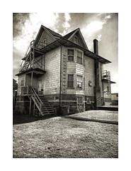 East Van Old School (ra1000) Tags: eastvan house archetecture vancouver bc bw blackandwhite