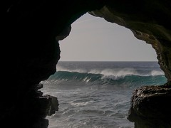 The Caves of Hercules - Tangier, Morocco (nicklaborde) Tags: 500px tangier morocco lumix lumixlounge gx8 travel cave water ocean wave rock rocky beach