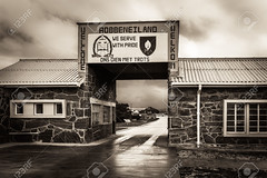 Entrance to Robben Island Prison (mucciniale@gmail.com) Tags: africa african barrier block cape deprived entrance gaol gateway harsh humanity island jail mandela misery nelson prison robben social south town wall robbenisland capooccidentale sudafrica