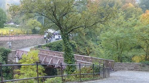 Eingang zur Schönburg bei Oberwesel