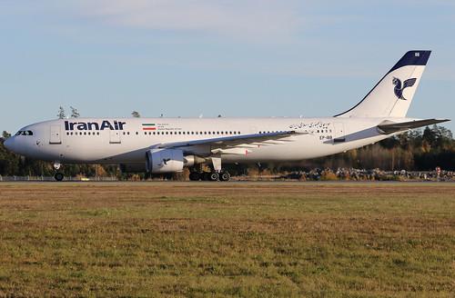 Iran Air Airbus A300B4-605R EP-IBB 161029 ARN