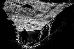 Salt mine 2 (RafalGorski) Tags: mine kopalnia wieliczka salt bw miner hardlight underground sl grnik monochrome longexposition