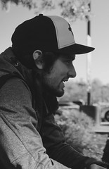 Profiling the profile (korisidaway) Tags: profileportrait portrait outdoorportrait blackandwhite