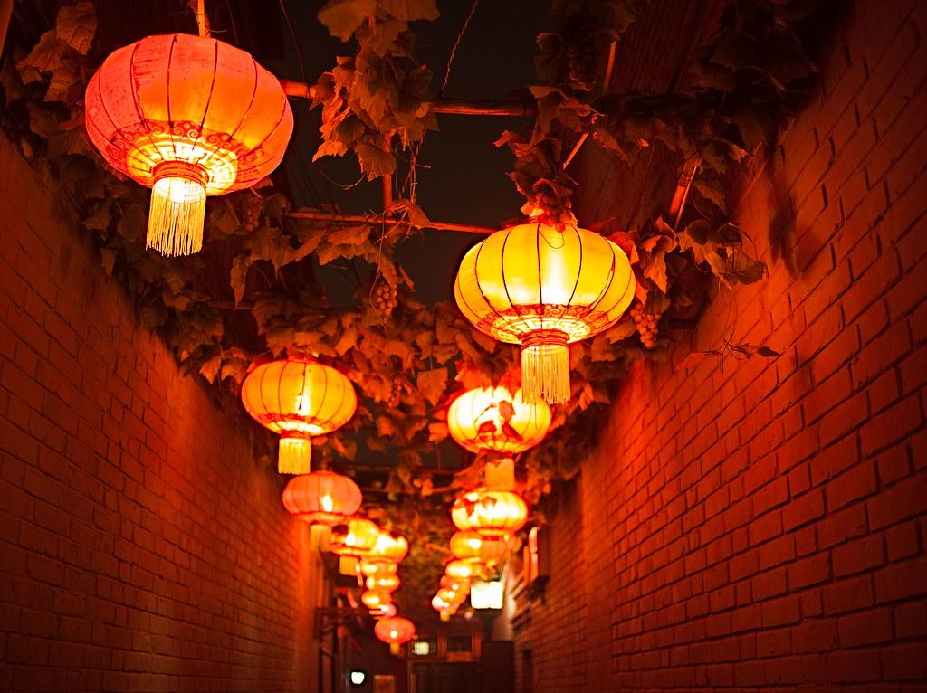Αποτέλεσμα εικόνας για beijing hutongs night