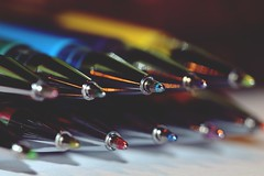 color and glitter 1...HMM (Gi.Vanella) Tags: macromonday ppep pencil bokeh macro