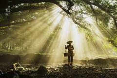Xiapu  () Tags: fujian xiapu reflection beach nikon travel          people  farmers culture  light   portrait