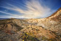 (353/16) Desierto de Tabernas (Pablo Arias) Tags: pabloarias photoshop nxd cielo nubes texturas desierto paisaje colina duna montaa arena tabernas almeracomunidaddeandaluca