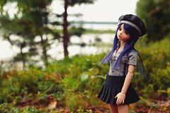Nature around us  (Untuvikko) Tags: bjd bluefairy baked may marine scout tinyfairy jolne