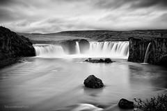 Godafoss (maurime58) Tags: islanda vacanza viaggio cascata bw blackandwhite acqua paesaggi panorama