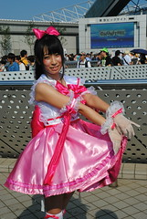 Comiket, Summer 2016 () Tags: comiket comicmarket tokyo odaiba japan japanese girl woman asia asian cosplay cosplayer costume