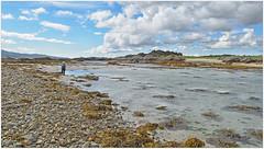 Stranger on the Shore.. (Harleynik Rides Again.) Tags: camusfearna glenelg sandaig beach westcoast westernisles westerross scotland harleynikridesagain
