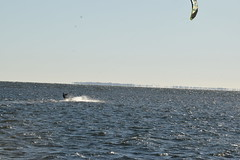 Kite surfing near Skyway Bridge in St. Petersburg (27) (Carlosbrknews) Tags: kitesurfing stpetersburg skywaybridge tampa bay florida