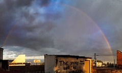 Rainbow buenos aires (Fally Killradio) Tags: sky skyporn skycollection clouds cloud cloudscape cloudsporn cloudscollection landscape paisaje view scenery nature rainbow arcoiris lovely amazing atardecer lateafternoon sunshine sunrise sunset buenosaires argentina panoramica panoramic photography photo