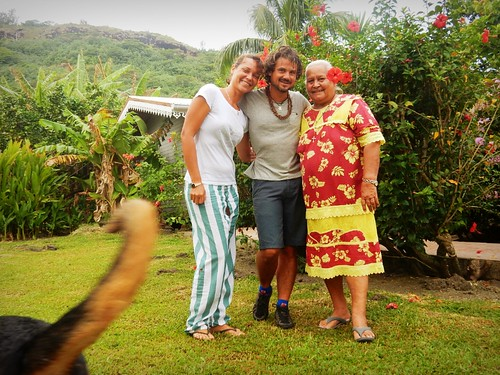 Local hosts in Bora Bora - French Polynesia