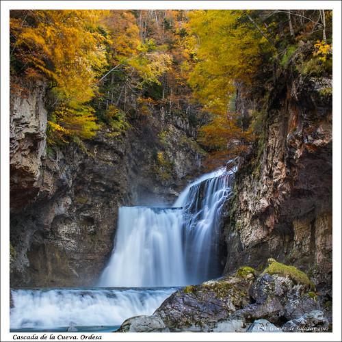 Cascada de la Cueva. Parque Nacional de Ordesa. Huesca