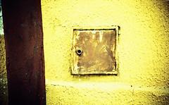 Yellow. (UrbaceousSentiment) Tags: yellow gelb stabilimentoalluminio mori italia italy italien lomo lca crossprocessed xpro pushed diafilm slide film analog analogue vignetting vignettierung