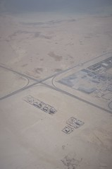 Compounds (michael.veltman) Tags: saudi arabia compound from the air
