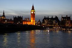 Monet Thames (planosdeluz) Tags: thames tamesis river big ben palace westminster relection blue hour canon 60d tamron 1750mm london beutiful light