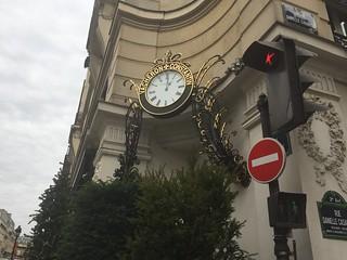 Horloge Vacheron Constantin : Place Vendôme - Paris 1er
