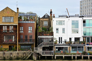 The Grapes; Pubs from the River Thames.