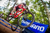 Dropping In (philbeckman56) Tags: mtb uscup xc bicycleracing boston bostonrebellion crosscountry massachussetts mountainbikeracing proxct usacycling usac walpole canon profoto