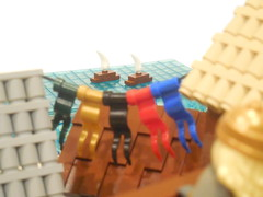 LOM: Universal Challenge XII (Armon Russ) Tags: medieval harbor microscale forced perspecitve lom tourney
