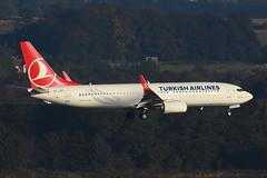 TC-JVI B737-8FC EGPH 09-10-16 (MarkP51) Tags: tcjvi b7378f2 b737 turkishairlines tk thy edinburgh airport edi egph aircraft airplane plane image markp51 nikon d7200