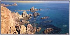 (403/16) El Arrecife de las Sirenas (Pablo Arias) Tags: pabloarias photoshop nxd cielo nubes españa mar agua mediterráneo rocas arrecife parquenatural cabodegata almeria comunidadandaluza