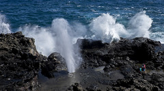 blowholeysmokes (dougschlock) Tags: hawaii maui nakalele blowhole
