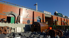 Sunny London (Rebla) Tags: lego london train british scene rebla sunny