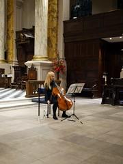 Trajet - 4 (the justified sinner) Tags: justifiedsinner birmingham panasonic 17 20mm gx7 traject music cello violoncello stphillips seismology sound oldsquare janecallow juliettemccarthy university bcu city conservatoire
