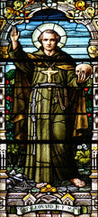 St Leonard of Port Maurice (Lawrence OP) Tags: franciscan monastery washingtondc stainedglass friar saint stleonard
