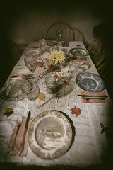 Yesteryearday (Matt GNH) Tags: belonging decoration emotion fork glass home knife plate plates settings table thanksgiving wine yesterday yesteryear