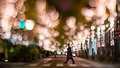 crossing (turntable00000) Tags: extrabokeh marunouchi tokyo japan crossing crosswalk nightscape cityscape bokehlicious