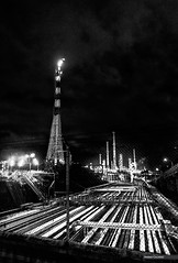 Petroleum (Massilo) Tags: petroleum petrolio citt cities town black blackandwhite blackwhite raffineria