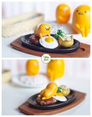 Gudetama & Food (Ylang Garden) Tags: gudetama food restaurant rement cake lazy egg