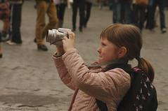 Photographer (Natali Antonovich) Tags: photographer photographercamera camera portrait childhood children emotion spectator lifestyle grandplace sweetbrussels brussels belgium belgique belgie magicianfriendcamera profile character