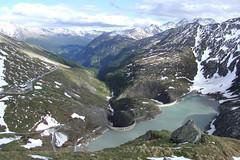 Stausee Margaritze, 31.05.2009. (Dāvis Kļaviņš) Tags: austria heiligenblut panoramio