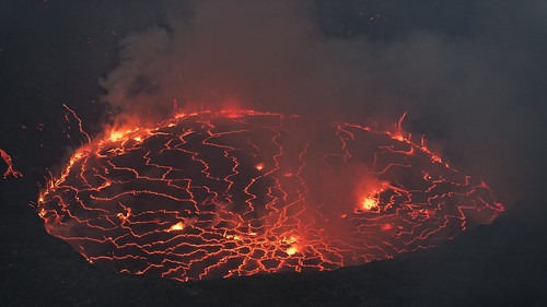 Largest Open Lava Lake in the World