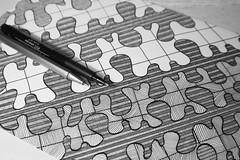 Day 97 (Esme on Plum Island) Tags: lines art doodle doodling blackandwhite bw myart linedrawing drawn workinprogress