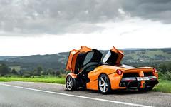Orange. (Alex Penfold) Tags: ferrari laferrari orange belgium spa swiss supercars supercar super car cars autos laf alex penfold