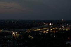 Bahnhof Sdkreuz vor Sonnenaufgang (M. Schirmer Berlin) Tags: berlin schneberg nacht gasometer s45 gropiusstadt ringbahn s42 ullsteinturm