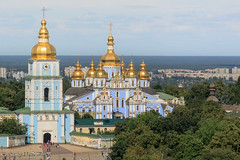 St. Michael's Cathedral (neal.walker) Tags: city travel summer urban church architecture temple cathedral ukraine kiev kyiv easterneurope 2015 stsophia stsophiasquare
