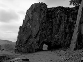 In Dinorwic Quarry