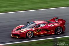 Ferrari FXX K (belgian.motorsport) Tags: test k corse ferrari testing brakes glowing spa clienti francorchamps braking 2015 spafrancorchamps fxxk fxx
