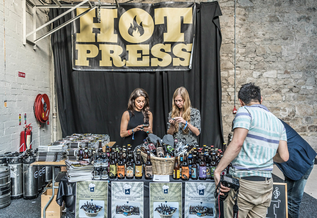 IRISH CRAFT BEER FESTIVAL IN THE RDS LAST WEEKEND IN AUGUST 2015 [SONY A7R MkII] REF-107259
