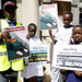 Stop killing in the Nuba in Sudan outside Sudan Embassy, London