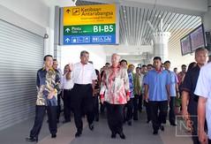 Majlis Perasmian Lapangan Terbang Antarabangsa Terminal 1 Kota Kinabalu (KKIA) (Najib Razak) Tags: 1 terminal pm kota primeminister kinabalu antarabangsa 2015 majlis kkia lapangan terbang perdanamenteri perasmian najibrazak