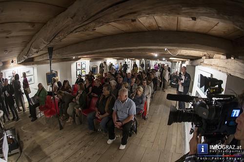 Projektpräsentation im Naturparkzentrum Grottenhof